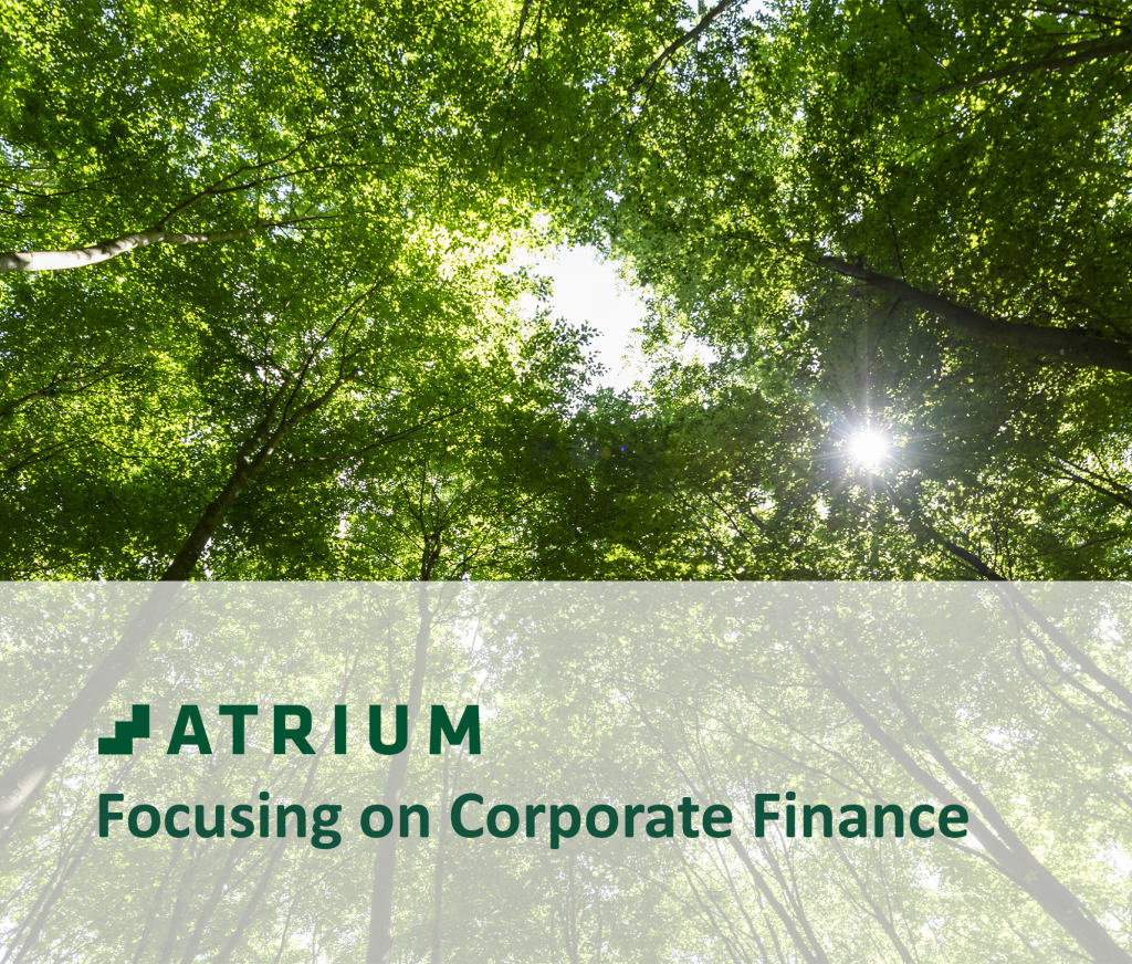 ATRIUM Partners divests the subsidiaries ATRIUM Kapitalforvaltning and ATRIUM Alternativer