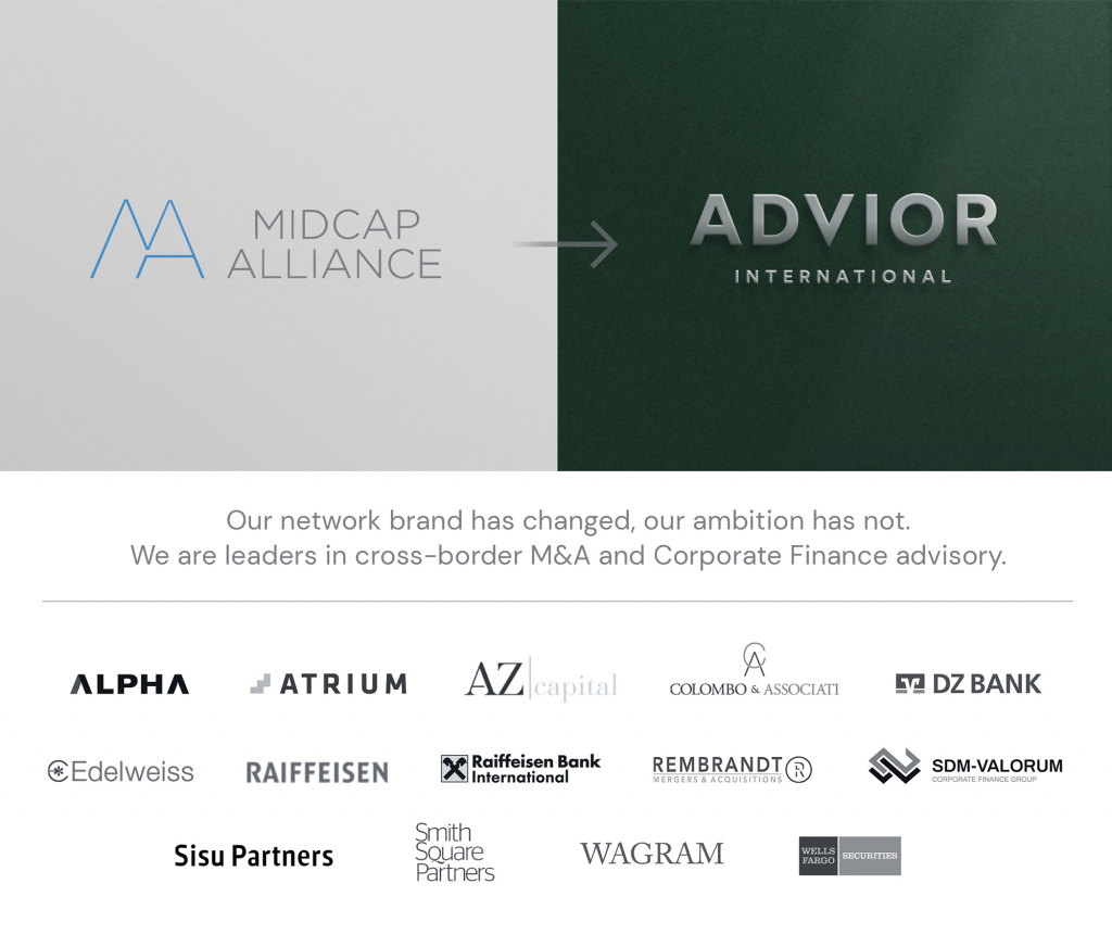 MidCap Alliance rebrands as Advior International